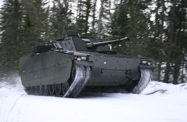 Swedish armored vehicles get F1-inspired active suspension