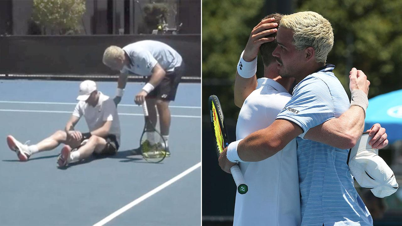 Aussie's act of sportsmanship for injured opponent warms hearts