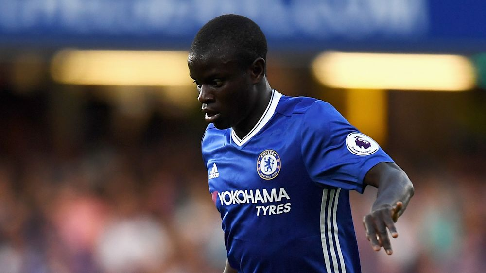 Kanté é eleito o melhor jogador da Premier League 2016/17