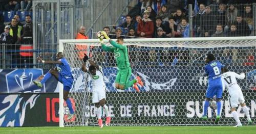 Foot - Coupe - Alphonse Aréola (PSG) : «Ça leur a mis un coup sur la tête»