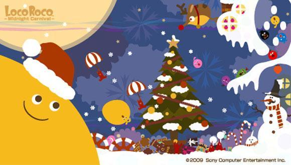 LocoRoco wallpapers make for a cute Christmas