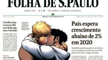 Brazil Newspaper Splashes Gay Avengers Kiss On Front Page To Defy Evangelical Mayor