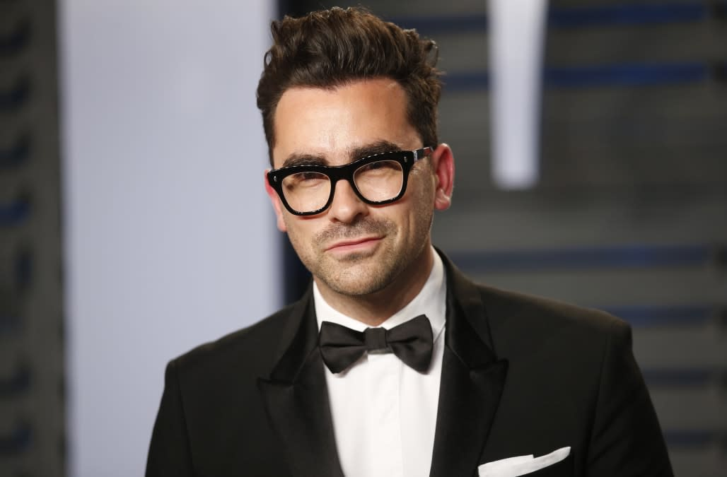 Dan Levy urges viewers to vote after historic Emmys win: 'I am so sorry for making this political, but I had to'
