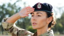 Michelle Keegan proud to have inspired women to join army