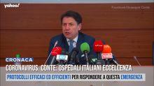 Coronavirus. Conte: Ospedali italiani eccellenza