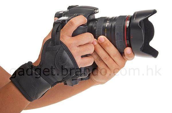 Brando's Ultimate 3-Point Hand Strap will help you get attached to your DSLR