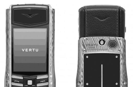 Vertu's Ascent Ti Damascus Steel makes being wealthy slightly more stylish