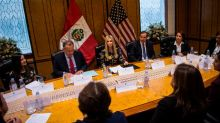 Ivanka Trump has a meeting on women in business — surrounded by men