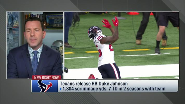 Rapoport: Texans release RB Duke Johnson
