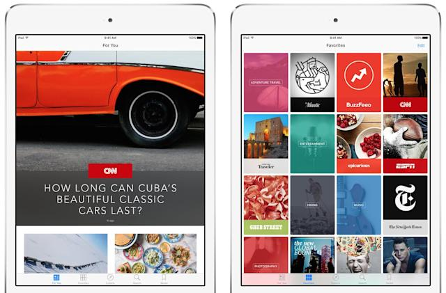 Apple News comes to the UK with iOS 9.1
