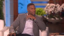 Michael Strahan says he would kneel in protest with the NFL players