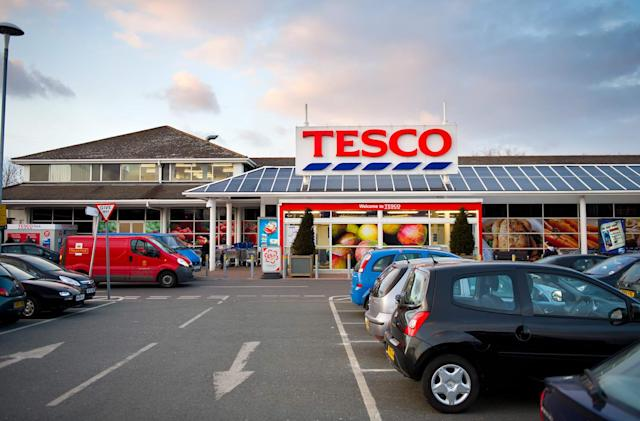 Tesco has a one-hour delivery service in London now, too