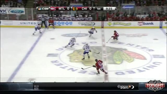 Montreal Canadiens at Chicago Blackhawks - 04/09/2014