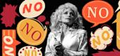 Dolly Parton photomontage. (TODAY)