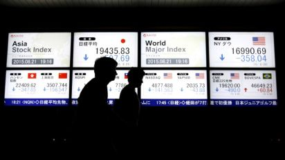 Asian shares hit 1-year low on Turkey, China worries