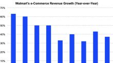 Walmart's e-Commerce Business Continued to Grow