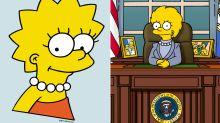"Ted Cruz ""disst"" Lisa Simpson als Demokratin"