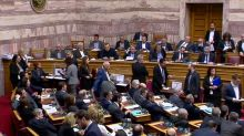 Greece votes to probe politicians in alleged drug bribery case