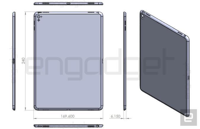 El iPad Air 3 sería un iPad Pro de dimensiones más pequeñas