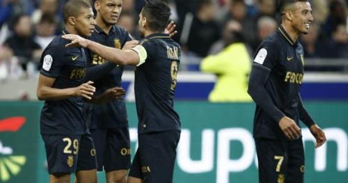 Foot - L1 - Monaco s'impose à Lyon et reprend la tête de la Ligue 1 devant le PSG