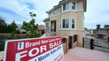 US new home sales sank in August
