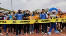路跑》全國半程馬拉松台中場豐原開跑 93歲劉女士完成6公里挑戰