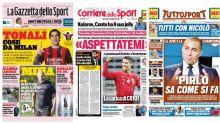 La Rassegna Stampa dei principali quotidiani sportivi italiani di mercoledì 9 settembre 2020