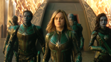 'Captain Marvel' merchandise range revealed