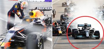 F1 world explodes over 'horrendous' late drama