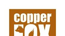Copper Fox Announces 2020 Third Quarter Operating and Financial Results