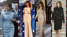 Stunning and Symbolic First Lady Inaugural Fashions Through the Years