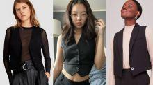 Mini colete de alfaiataria: o queridinho de Kate Moss está de volta ao look