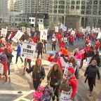 Chicago Teachers Strike: Union says progress made but no deal reached as strike drags on for 4th day; classes 'unlikely' to resume Monday