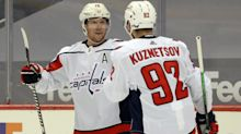 How strong are the Capitals at center with and without Evgeny Kuznetsov?