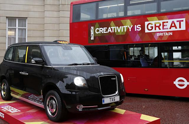 London's future black cabs are going green