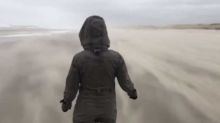 Stunning footage documents immense strength of Storm Ciara blowing through the Netherlands