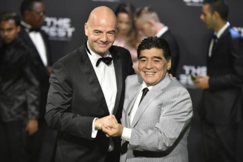 Maradona nega envolvimento na punição de Lionel Messi