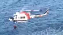 Turkish Coast Guard Rescues Migrants Stranded on Rocks