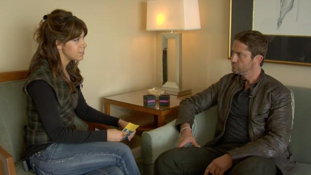 Celebs - We Interview Gerard Butler On Violence in Movies