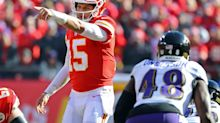 Chiefs open as 3.5-point underdogs vs. Ravens in Week 3