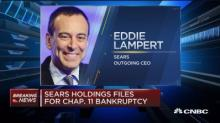 Sears files for bankruptcy; Eddie Lampert steps down as CEO