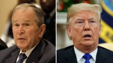 "George W. Bush Calls George Floyd's Death, Harassment A ""Shocking Failure"" In Open Letter; Donald Trump Fires Back"