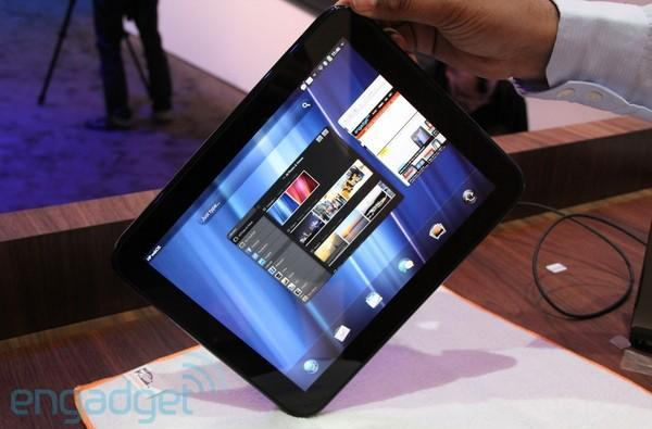 HP TouchPad on sale in April?