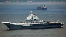 Taiwan says Chinese carrier sails into its defense zone