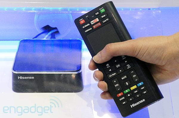 Hisense Pulse with Google TV set-top box hands-on (video)