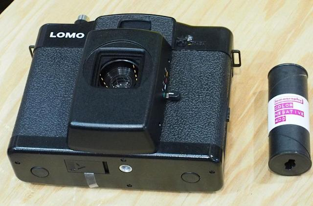 Lomo's latest camera is expensive and uses 120 film