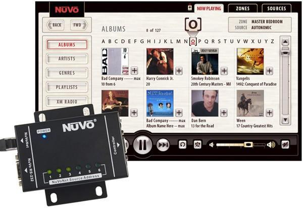 NuVo Music Port integrates PCs with multi-room audio systems