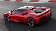 AutoComplete: Ferrari shows off the SF90's hybrid drivetrain