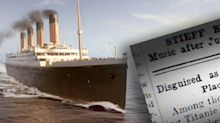 The 'completely unknown' story behind Titanic sinking