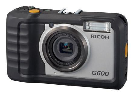 Rugged Ricoh G600 point-and-shoot resists dust, water